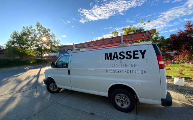 Massey Electric Inc. Van
